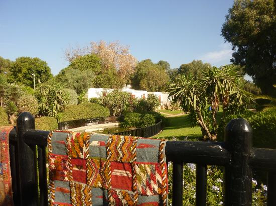 Club Med Agadir: Petit pont et point d'eau
