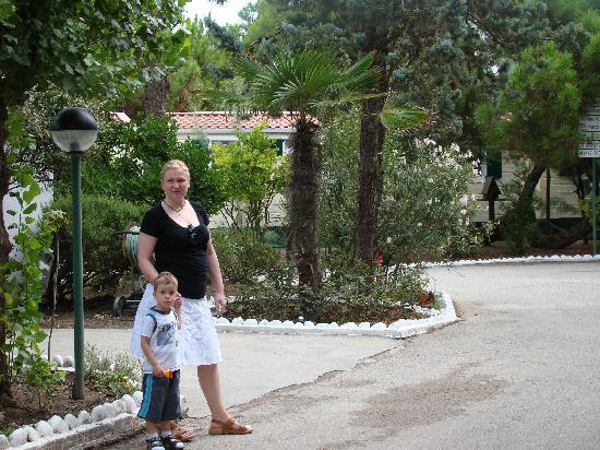 Rosolina Mare Club: spacer po ośrodku