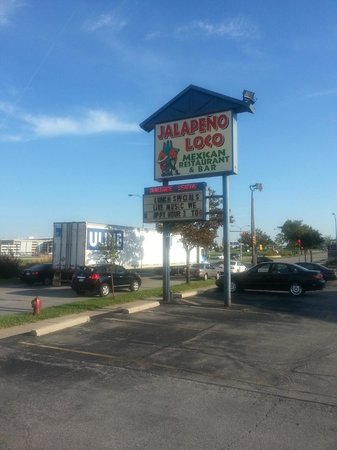 Jalapeno Loco Mexican Restaurant Outdoor Sign
