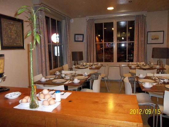 Hotel Chantecler : restaurent
