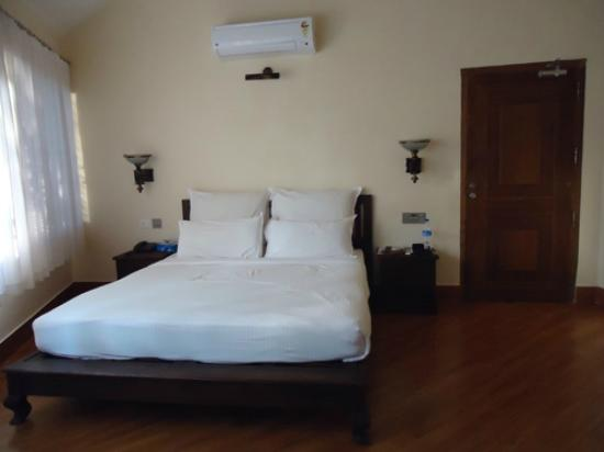 Vythiri Village Resort: View from the bedroom