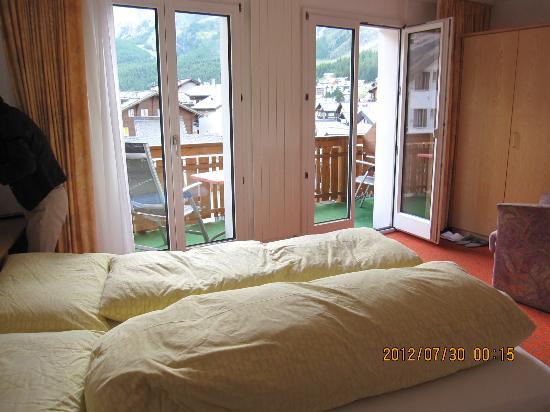 Park Hotel : 3F(日本の4F)のツイン部屋