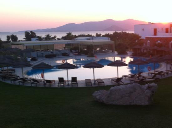 Aegean Land: Η θεα απο το δωματιο μου