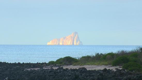 Kicker Rock: View from the beach