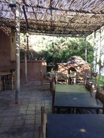 La Ferme Berbere: Espace repas