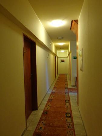 Hotel Augustus et Otto: couloir 3ème étage