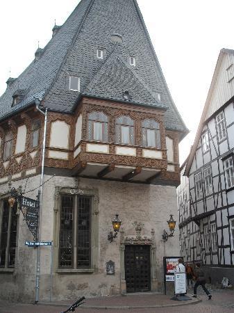 room view picture of hotel brusttuch goslar goslar. Black Bedroom Furniture Sets. Home Design Ideas