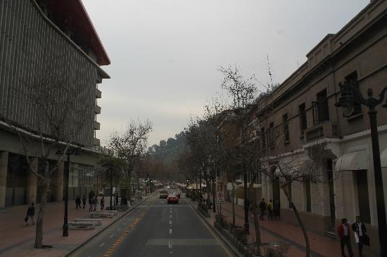 H Rado Hostel: Rua do albergue - Pio Nono