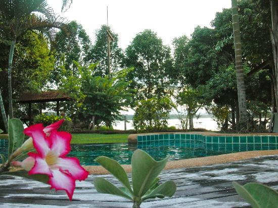 Viang Yonok Hotel Restaurant Sports Club Lake View From The Pool