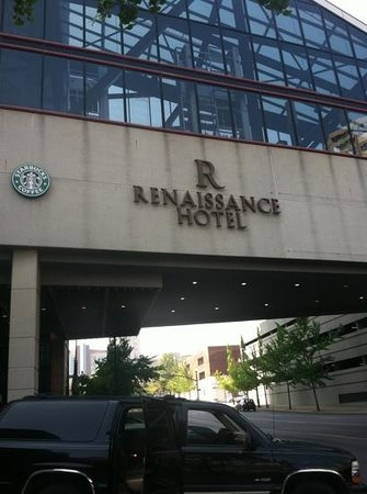Renaissance Nashville Hotel: outside the hotel