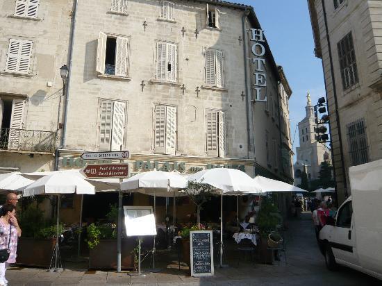 Hotel Restaurant Du Palais Des Papes