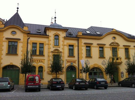 Kojetin, Republik Ceko: Pivovarský hotel