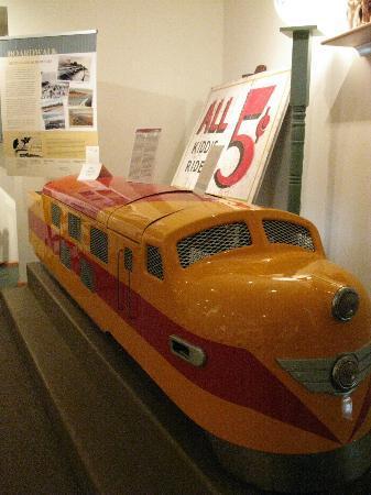 Rehoboth Beach Museum : Funland train