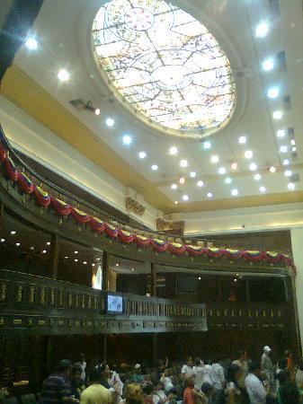El Capitolio Nacional : Techo Salón Protocolar