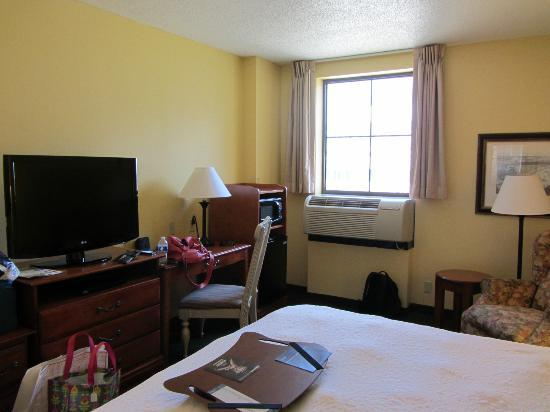 Hampton Inn & Suites Convention Center: Room