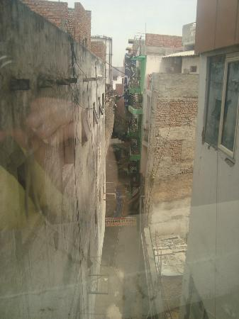 Hotel Delhi Aerocity: View from window in hall