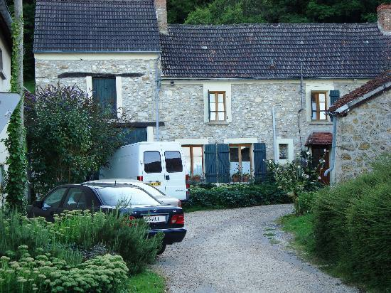Champagne B&B : The parking
