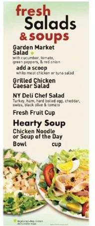 Manhattan Bagel Co: Salads