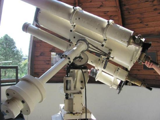 HvEzdarna Planetarium: 100 year old telescope