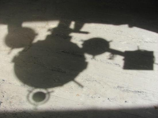 HvEzdarna Planetarium: shadows dancing on the floor