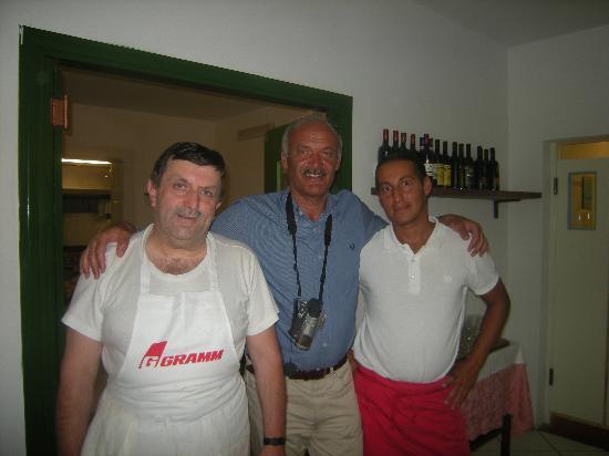 Hotel Giardino: Con Fausto e Alfonso
