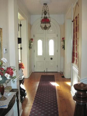 The Flagg Farmstead: Front Entry Hall