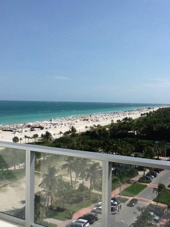 W South Beach: ocean view