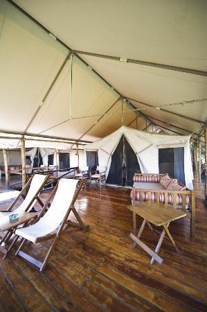 Karen Blixen Camp : Outside of Tent