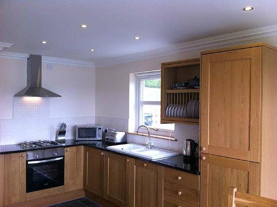 Highland Farm Cottages: Fully fitted modern kitchen