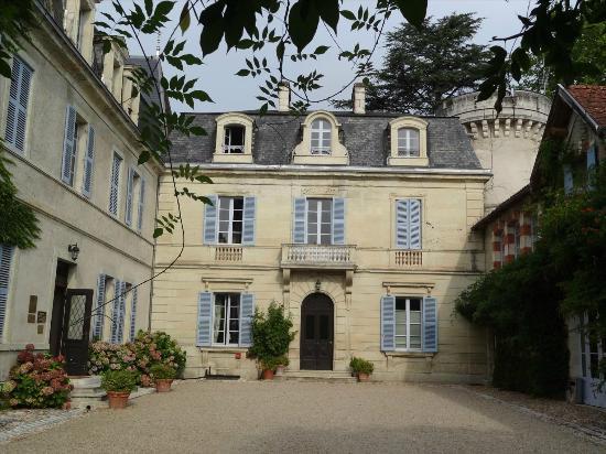 Chateau De Lalande: Entrée du chateau