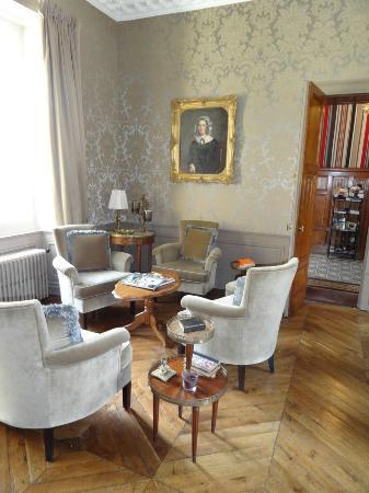 Chateau De Lalande: Vue du Salon