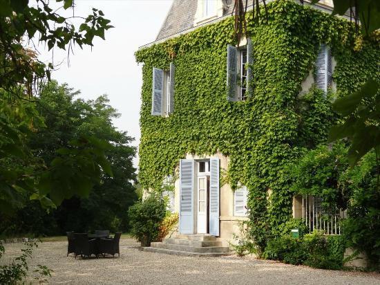 Chateau De Lalande: Vue de la chambre n°1