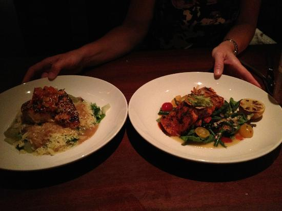 Seasons 52 : Two delicious seafood choices