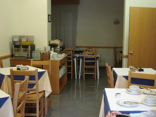Hotel Italia: Área do pequeno almoço