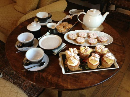 Kilmahon House: Tea in the Drawing Room
