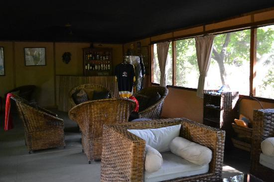 Murera Springs Eco Lodge: zona relax