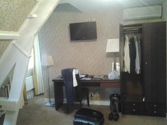 Hotel Johannes Vermeer: Camera
