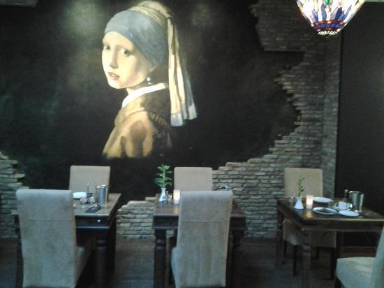 Hotel Johannes Vermeer: Sala colazione