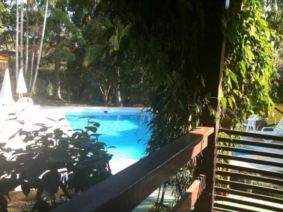 Hotel e Pousada Canto Magico: Vista do meu quarto!!!
