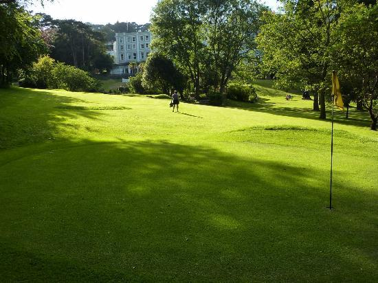 The Palace Hotel: Hotel from golf course