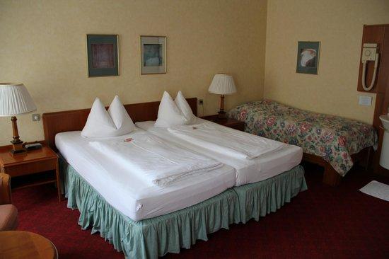 Pension Kraml: Doppelzimmer mit Dusche