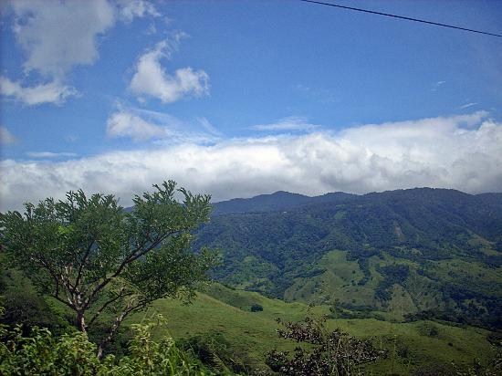 Hotel de Montaña Monteverde: Paisaje hermoso