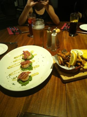 The Boathouse: starters
