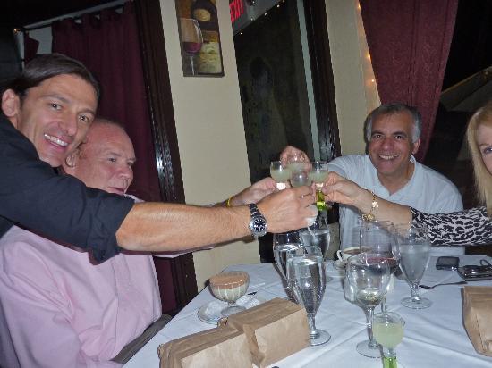 IL Bacio: Antonino, joins us in a toast!
