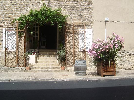 Domaine De La Ronciere: entrée