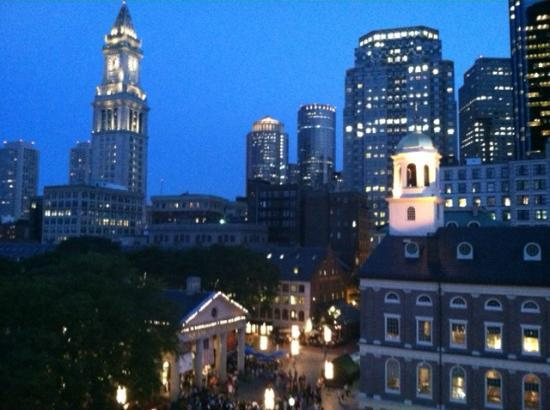 The Bostonian Boston: View from room facing Quincy Market