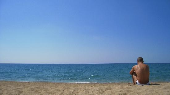 The Romanos Resort, Costa Navarino: Sea - we were late in the season - almost no others...