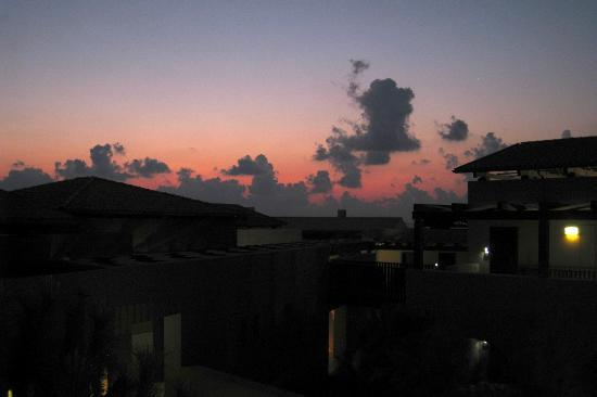 The Romanos Resort, Costa Navarino: sunset