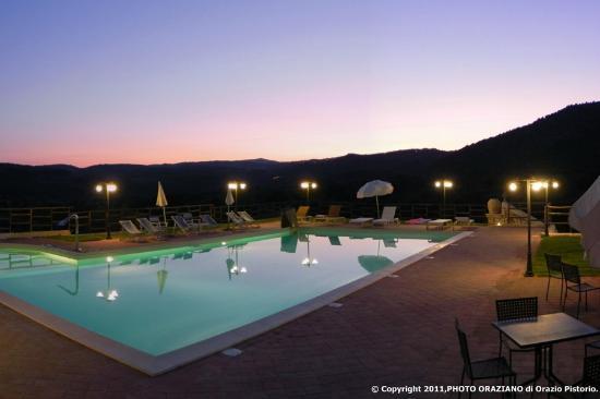 Pantalica Ranch: suggestiva la piscina con acqua salata