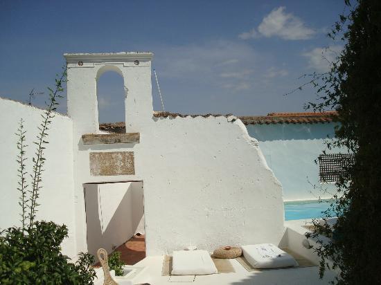 Hospederia Convento de la Parra: The Pool Area
